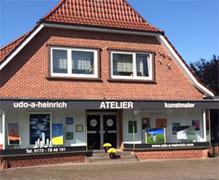 Atelier des Künstlers Udo A. Heinrich